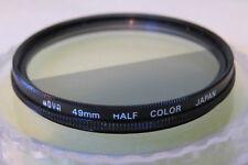 HOYA 49mm Half Color Light Grey Filter (RARE) + Free UK Postage