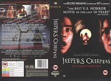 Jeepers Creepers, Horror Video Promo Sample Sleeve/Cover #10057