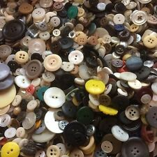 GREAT! 300 pcs MIXED LOT of VINTAGE/NEW Buttons ALL TYPE, SIZE, COLOR  GREAT MIX
