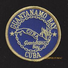 US NAVAL STATION CLUB GITMO GUANTANAMO BAY CUBA PATCH US NAVY VETERAN GIFT USS