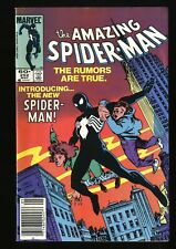 Amazing Spider-Man #252 FN/VF 7.0 1st Black Costume! Marvel Comics Spiderman