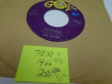 Kim Weston A Love Like Yours/Helpless 45 RPM Gordy Records VG+