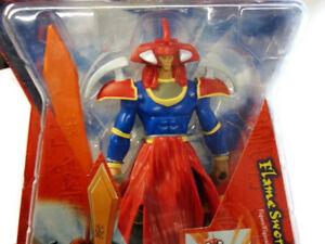 Yu-Gi-Oh! Flame Swordsman Action Figure 6 Inch 2003 NIB