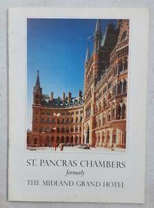 Ephemera Midland Grand Hotel London St Pancras Chambers Railways RESTORATION