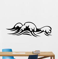 Sea Waves Wall Decal Waterproof Bathroom Vinyl Sticker Art Decor Mural 129xxx