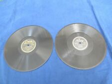 LOT OF TWO 78 rpm RECORDS-VINYL--VIC DAMONE & BING CROSBY