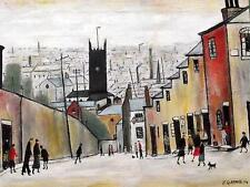 Church in the Hollow Original Northern Art Oil Painting  by Jim Glennie