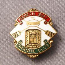 Granite Curling Club North Bay Canada   Pin
