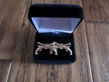 U.S Army Military Police Cufflinks & Jewelry Box 1 Set Cuff Links Boxed 1 1/4""