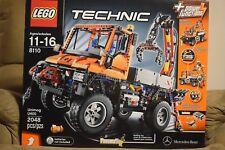 Lego 8110 Technic Mercedes-Benz Unimog U 400 (Rare, Retired)