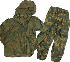 (2) GENUINE RUSSIAN SOVIET ARMY CAMO MESH SNIPER OVERSUIT