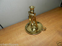 Brass Nautical Ships GIMBAL MOUNT CANDLE HOLDER /  Light ~ metcrafters