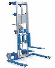 Genie Lift Gl 8 Str Manual Straddle Stacker 400 Lb Load Cap