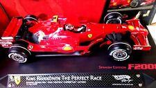 1/18 Ferrari F2008  HAT TRICK The Perfect Race Kimi Räikkönen HOTWHEELS