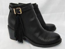 Circus by Sam Edelman, Jolie Ankle Boots, Black Women US 6.5