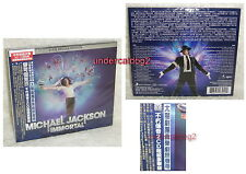 MICHAEL JACKSON IMMORTAL DELUXE EDITION Taiwan 2-CD w/BOX