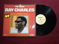 "LP RAY CHARLES ""The great"" MUSIDISC 30 CO 1232 µ"