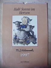 Hummel Kalender 1997--Hab Sonne im Herzen-M.J. Hummel-ars Edition-
