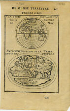 1683 Genuine Antique map of East Hemisphere. Ancient World. by A.M. Mallet