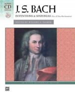 Inventions and Sinfonias : Two-and Three-part Inventions, Paperback by Bach, ...