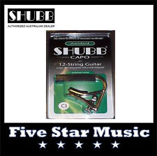 NEW Shubb C3 Original Capo for 12 String guitar