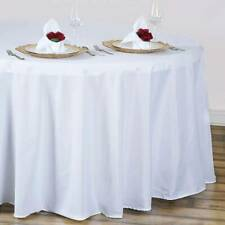 Round Tablecloth Cover Wedding Banquet Party Home Decoration SL