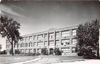 D4/ Wells Minnesota Mn Real Photo RPPC Postcard 1961 High School