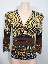 Anthea Crawford Collection Size 8 Stretchy Top