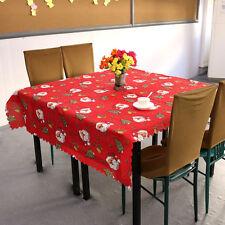 Mantel De Navidad Santa Claus Rojo, Mesa De Navidad Decoración, 180 * 150cm