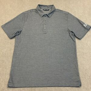 Travis Mathew Men's Golf Performance Polo Size L Country Club Shirt JUUL Logo