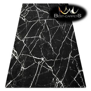Amazing modern design Original Rug 'GNAB' Marble grey white Best carpets