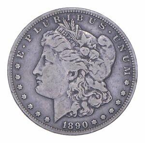 Carson City - 1890-CC Morgan Silver Dollar - RARE Historic Coin *573
