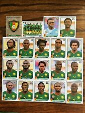 CAMERON CAMEROUN TEAM 19 PANINI STICKERS, WORLD CUP SOUTH AFRICA 2010 #AFRICA20