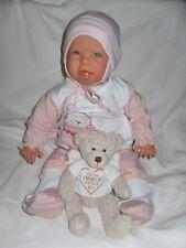 Traumdolls Antonio Juan Babypuppe Josy mit Schnuller Spielpuppe Baby Puppen