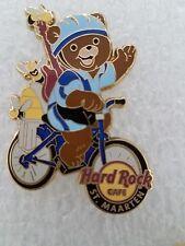 ST. MAARTEN Hard Rock Cafe Pin BIKING BEAR