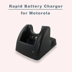 Rapid Universal Battery Charger for HNN9008 Motorola Radios HT1250 GP388 MTX850
