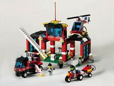 LEGO 6478 & 6477 - Town - Fire Fighters' HQ & Fighter's Lift Truck - NO BOXES
