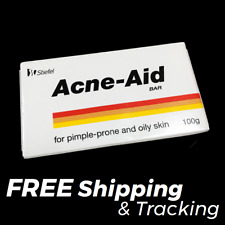 Stiefel Acne-Aid Bar 100g Pimple Prone & Oily Skin Acne Aid Soap EXP:12/2020