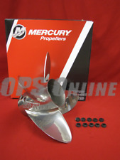 "Mercury Bravo 1 XS Pro Finished Propeller 48-831914L60 15.25 X 26 ""  RH 4 Blade"