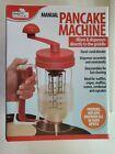 Manual Pancake Dispenser Machine Cupcake Batter Muffin  Mix Pastry Kitchen DIY