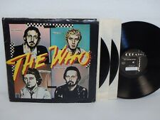 THE WHO aufgenommen Live 1979 PETE MEADEN BAND 3x LP kreativ Artistry NOT TMOQ