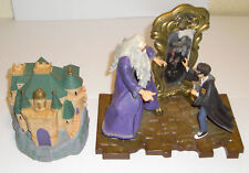 Harry Potter 2000 The Mirror of Erised & Harry Potter 2001 Folding Castle Both