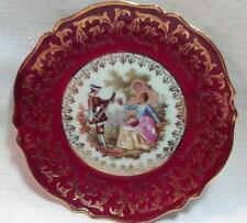 Small Cabinet Display  Plate, L. A. Limoges France no. 957, Enhanced by Hand