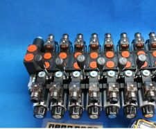 HYDRAULIC BANK MOTOR 7 SECTIONS DOUBLE ACTING open center 12V Truck Loader Boat