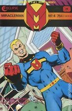 Miracleman #4 Eclipse 1985 Jim Starlin Cover Written by Alan Moore Comic Book