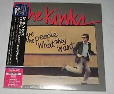 The Kinks - Give the People What They Want (1981) / JAPAN Mini LP CD (2007) NEW