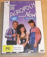 ACROPOLIS NOW - SEASON 3 dvd REGION 4 nick giannopoulos RARE OOP aussie comedy
