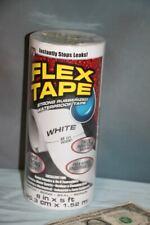 "New listing Flex Seal Flex Tape Flexible Sealing Adhesive Tape 8"" x 5' As Seen On Tv White"