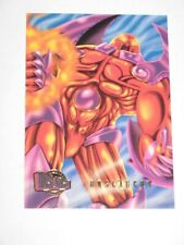 1996 MARVEL FLEER ULTRA ONSLAUGHT PROMO CARD #4 ONSLAUGHT! MAGNETO PROFESSOR