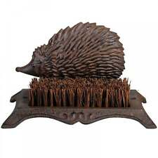 Fallen Fruits Cast Iron Hedgehog Boot Cleaning Brush for Wellies and Muddy Shoes